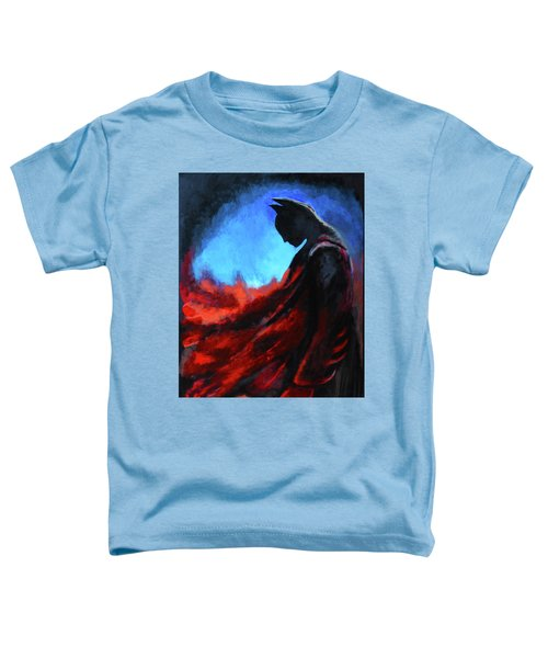 Batman's Mercy Toddler T-Shirt by Brandy Nicole Neal