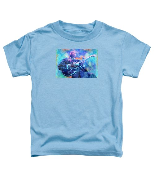 Bb King Toddler T-Shirt by Dan Sproul