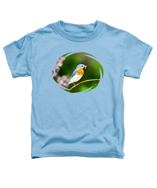 Bluebird Toddler T-Shirt by Christina Rollo