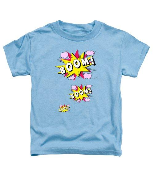 Boom Comics Toddler T-Shirt by Mark Ashkenazi