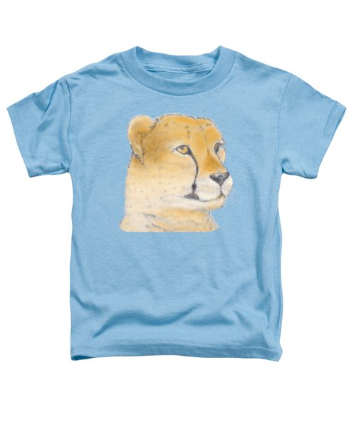 Cheetah 3 Toddler T-Shirt by Gilbert Pennison
