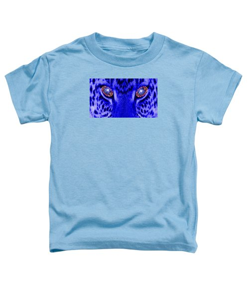 Eyes Of The Leppard Toddler T-Shirt by Luisa Gatti