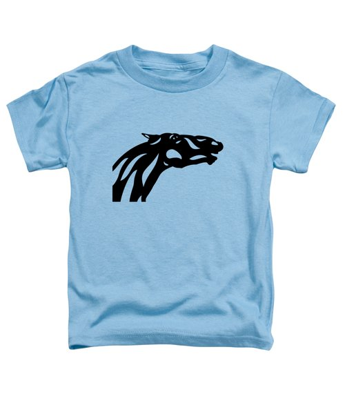 Fred - Abstract Horse Toddler T-Shirt by Manuel Sueess