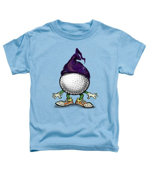Golf Wizard Toddler T-Shirt by Kevin Middleton