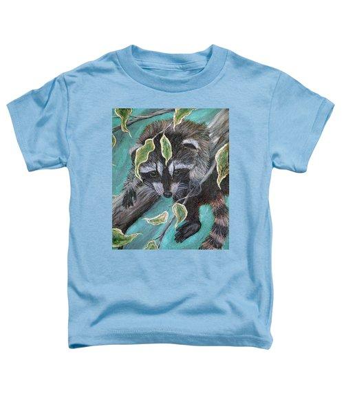 Hanging Around Toddler T-Shirt by Nick Gustafson