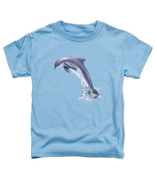 Jumping For Joy Toddler T-Shirt by Glenn Holbrook