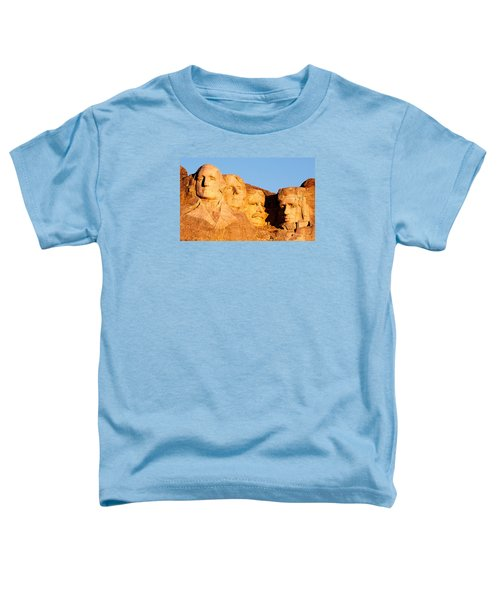 Mount Rushmore Toddler T-Shirt by Todd Klassy