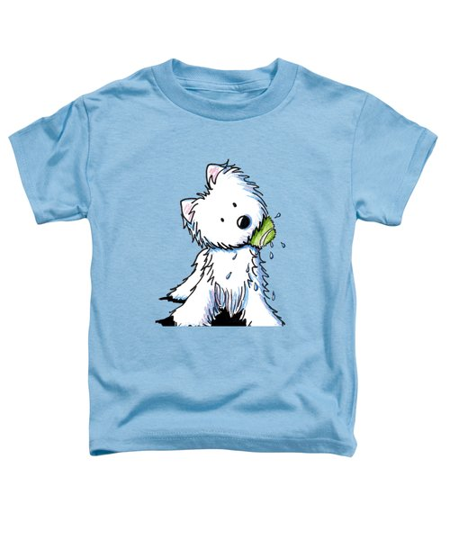 My Ball My Rules Toddler T-Shirt by Kim Niles