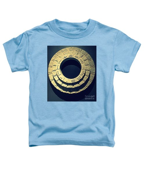National Museum Of The American Indian 10 Toddler T-Shirt by Randall Weidner