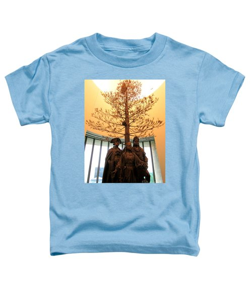 National Museum Of The American Indian 7 Toddler T-Shirt by Randall Weidner