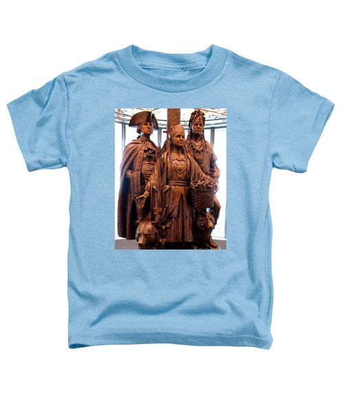 National Museum Of The American Indian 8 Toddler T-Shirt by Randall Weidner