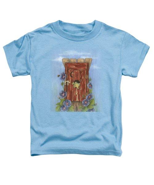 Nature Calls Toddler T-Shirt by Julie Senf