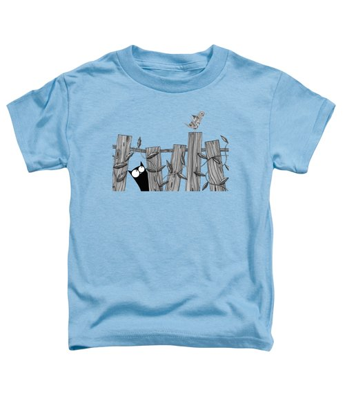 Paper Bird Toddler T-Shirt by Andrew Hitchen