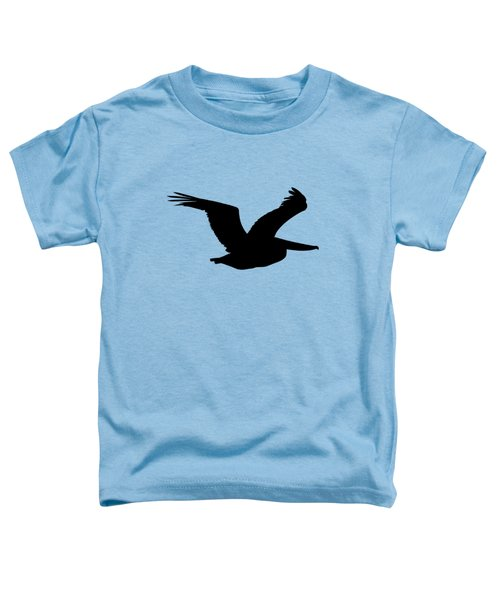 Pelican Profile .png Toddler T-Shirt by Al Powell Photography USA