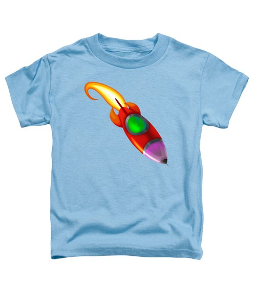 Red Rocket Toddler T-Shirt by Brian Kemper