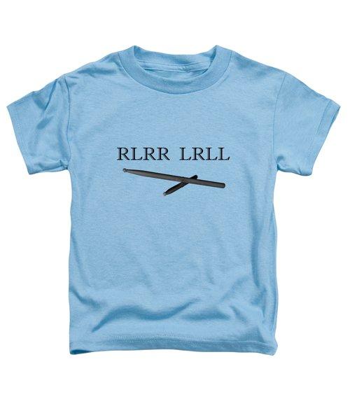 Rlrr Lrll Toddler T-Shirt by M K  Miller