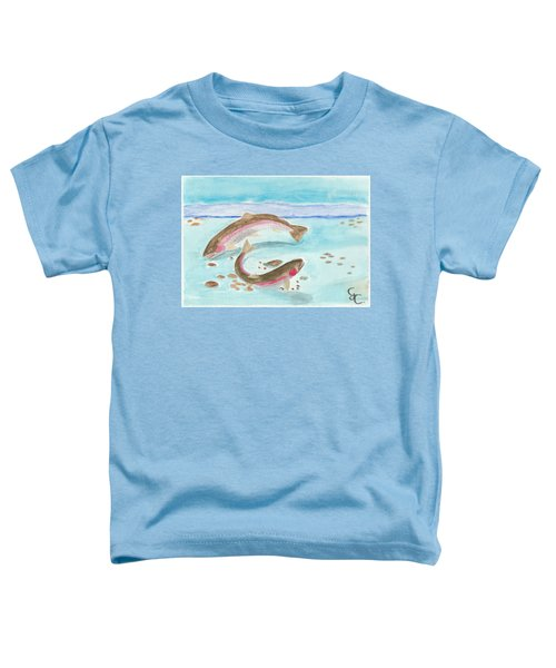 Spawning Rainbows Toddler T-Shirt by Gareth Coombs