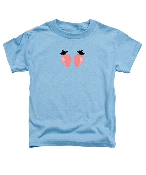 Strawberries Toddler T-Shirt by Elizabeth Tuck