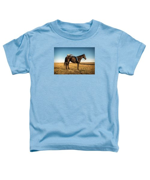 Taking A Snooze Toddler T-Shirt by Todd Klassy