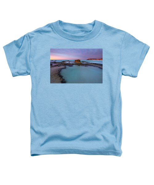 Tidepool Dawn Toddler T-Shirt by Mike  Dawson