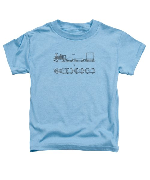 Toy Train Tee Toddler T-Shirt by Edward Fielding