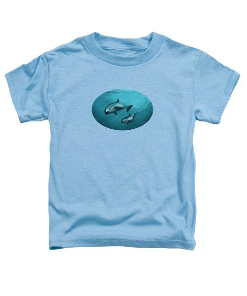 Treacherous Waters Vaquita Porpoise Toddler T-Shirt by Amber Marine