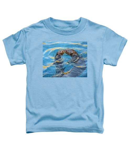 Water Kisses Toddler T-Shirt by Jamie Pham