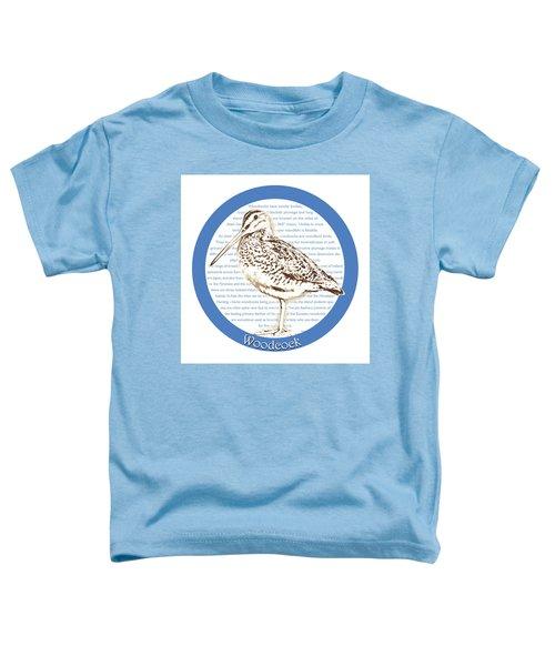 Woodcock Toddler T-Shirt by Greg Joens