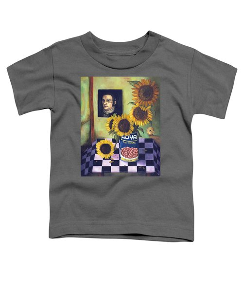 Goyas Toddler T-Shirt by Leah Saulnier The Painting Maniac