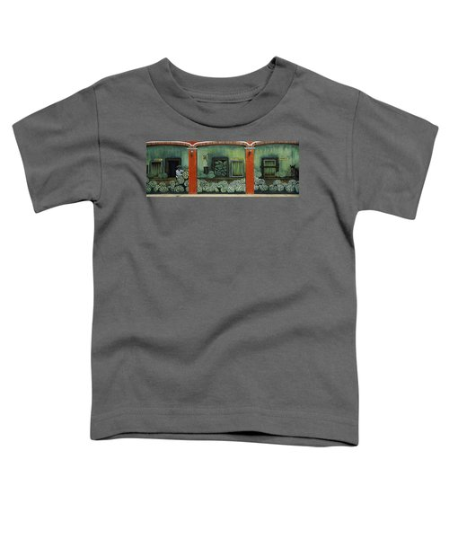 Mural On A Wall, Cancun, Yucatan, Mexico Toddler T-Shirt by Panoramic Images