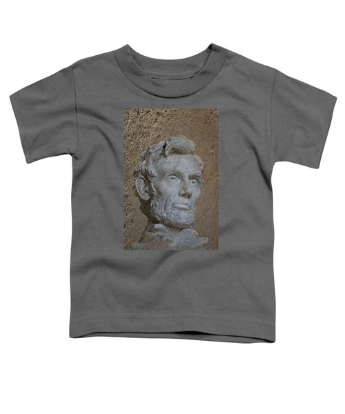 President Lincoln Toddler T-Shirt by Skip Willits