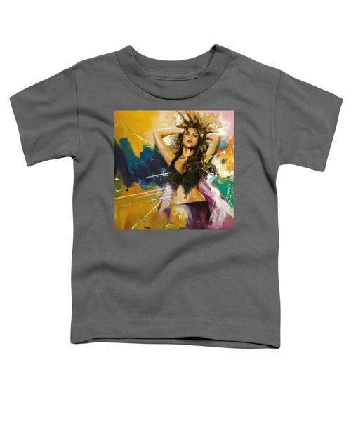 Shakira Toddler T-Shirt by Corporate Art Task Force
