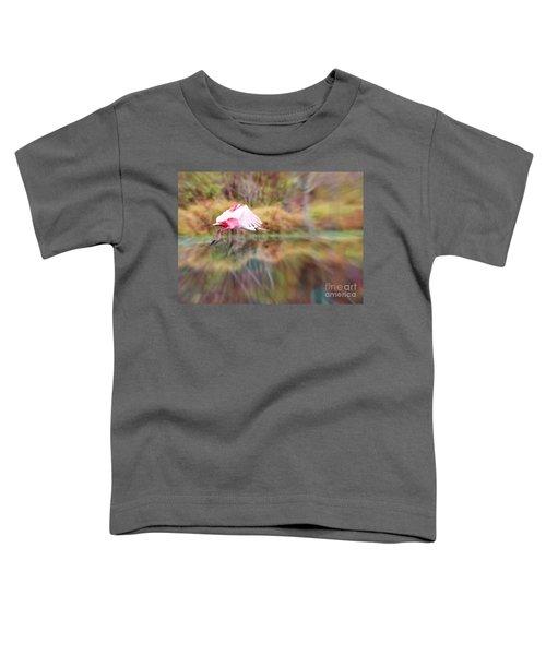 Birds Eye View Toddler T-Shirt by Carol Groenen