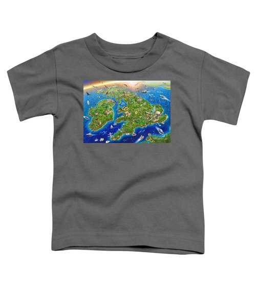 British Isles Toddler T-Shirt by Adrian Chesterman