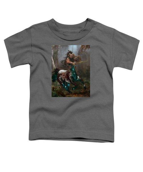 Centaur Token Toddler T-Shirt by Ryan Barger