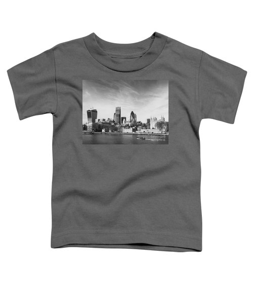 City Of London  Toddler T-Shirt by Pixel Chimp