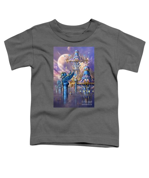 City Of Swords Toddler T-Shirt by Ciro Marchetti