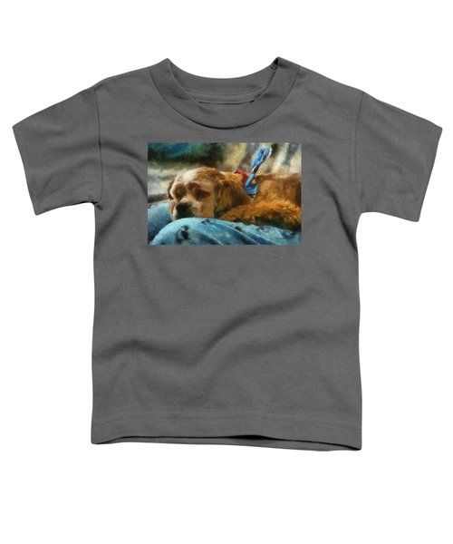 Cocker Spaniel Photo Art 07 Toddler T-Shirt by Thomas Woolworth