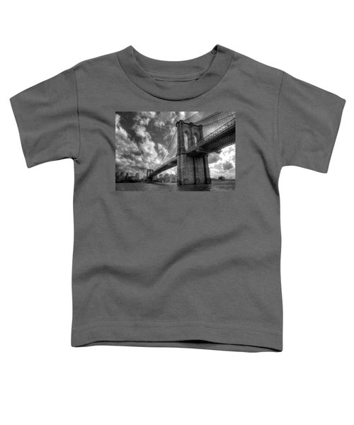 Connect Toddler T-Shirt by Johnny Lam