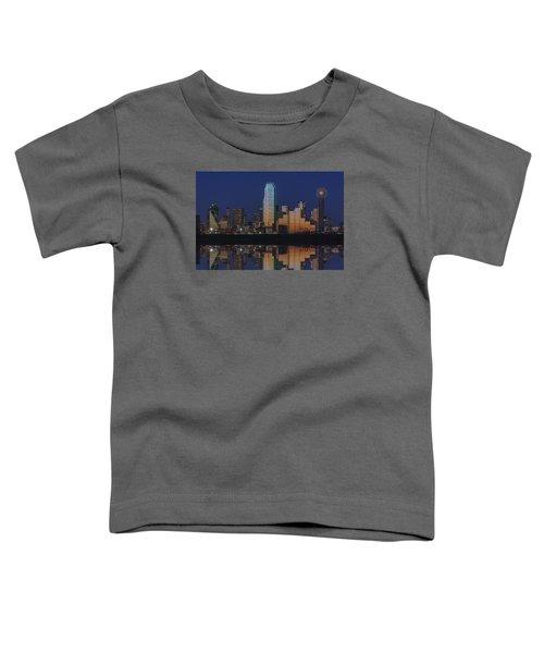 Dallas Aglow Toddler T-Shirt by Rick Berk