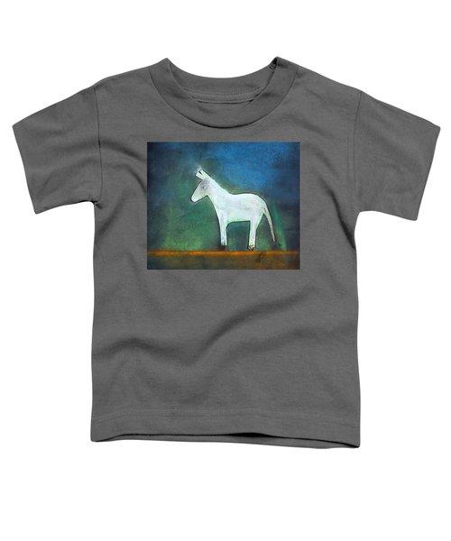 Donkey, 2011 Oil On Canvas Toddler T-Shirt by Roya Salari