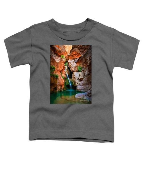 Elves Chasm Toddler T-Shirt by Inge Johnsson