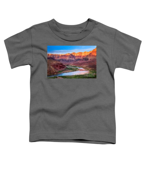 Evening At Cardenas Toddler T-Shirt by Inge Johnsson