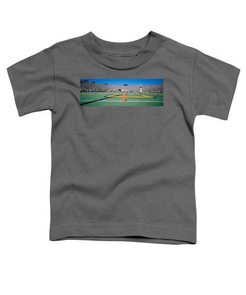 Football Game, University Of Michigan Toddler T-Shirt by Panoramic Images