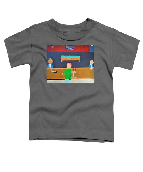 He Did It Toddler T-Shirt by Dennis ONeil