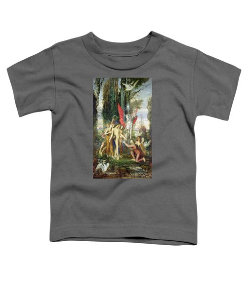 Hesiod And The Muses Toddler T-Shirt by Gustave Moreau