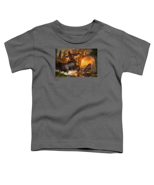 Hunt The Hunter Toddler T-Shirt by Ryan Barger