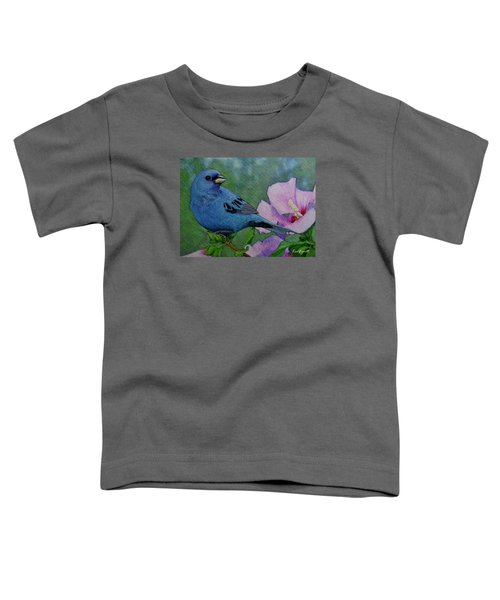 Indigo Bunting No 1 Toddler T-Shirt by Ken Everett