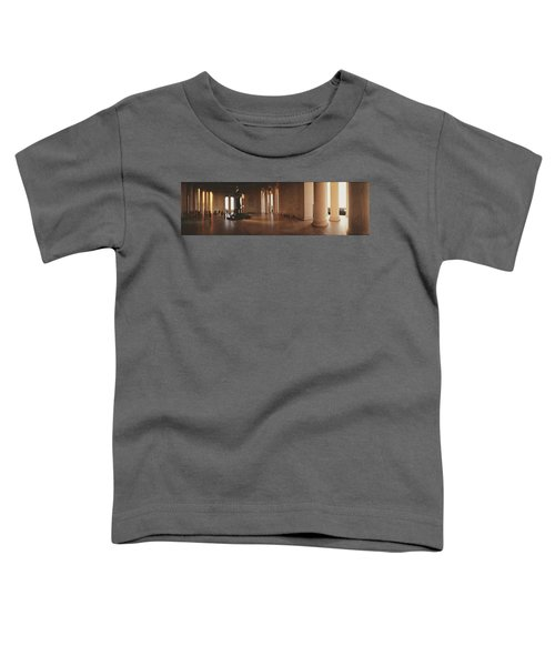 Jefferson Memorial Washington Dc Usa Toddler T-Shirt by Panoramic Images