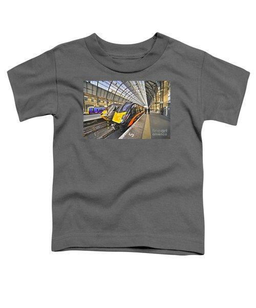 Kings Cross Variety  Toddler T-Shirt by Rob Hawkins